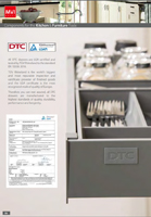 DTC Drawers LGA Cert