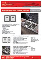 MVI New Pyramis Sinks