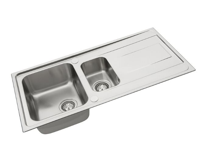 Pyramis Alea Sink Bowl & 1/2 Sink